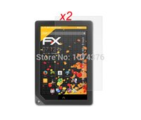 barnes film - Glossy Clear Screen Protector LCD Guard Films Retail Package For Barnes amp Noble Nook HD inch Tablet