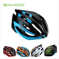 Wholesale SAHOO Unibody Cycling Helmet Colors Helmet Covers Caschi Ciclismo Velo Accessories Aerodynamic and Rainbow Cover