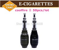 Cheap 50pcs lot Innokin Cool Fire2 Starter Kit Innokin Coolfire 2 Variable Wattage Mechanical Mod E cigarette Iclear 30s Atomizer