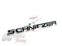 Cheap Exterior Accessories Car Stickers Hot Sale AC SCHNITZER Car Side Plate Body Tail Emblem Sticker for E90 E91 E92 E93 F30 F31