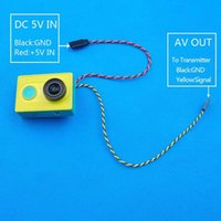 antenna transmission line - FPV Video Output Transmission Cable Line For XiaoMi Yi Sport Action Camera order lt no track