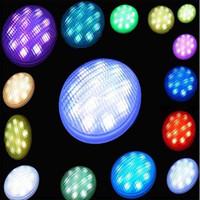 Wholesale RGB Par56 w Led swimming pool bulb lamp light multi color with Remote CE RoHs