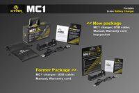 Wholesale 100 Original XTAR MC1 Charger Intelligent battery charger VS Nitecore I4 Digicharger Multifunctional battery charger for Li ion batteries