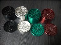 molinillo de hierbas tamaño molinillo de fumar amoladora CNC dientes cnc moledora de metal tabaco 55mm 4 partes mix 2015 diseños más novedosos DHL shiping libre