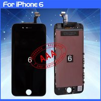 Wholesale 100 Tested LCD Display Touch Digitizer Complete Screen with Frame Full Assembly Replacement for Grade AAA iPhone