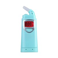Wholesale Parking Car Detector Alcohol Tester with Backlight the Breathalyzer Driving Essentials Gadget Gadgets Meter AT