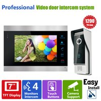 Wholesale YSECU Door Access Control quot LCD Display Video Camera Door Phone TVL Security Camera Intercom