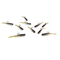 Wholesale 2014 New mm g Pesca Soft Bait Fishing Lure Lead Jig Head Fish Lures Tackle Sharp Hook