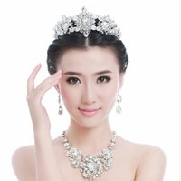 Cheap 2014 New Wedding Brida Big Hollow Crowns Headbands Prom Pageant Crown Rhinestone Crystal Bridal Jewelry Veil Tiaras 5464556