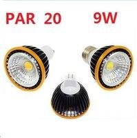 Wholesale 2014 Best Dimmable PAR20 W E27 E26 Led Spot Bulbs Light Lumens Angle Cool Warm White GU5 MR16 V Led Lights Lamp V CE CUL