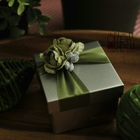 Wholesale 2015 Three Colors Wedding Decorations Flowers Candy Wedding Favor Boxes Creative Wedding Supplies