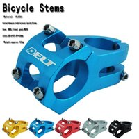 Wholesale Bicycle stem super light MTBNew BMX DH FR stem mm alloy AL6060 fixed gear Cycling handlebar stem downhill g