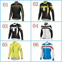 Wholesale 2014 Hot Sale Cycling Jerseys Blue Yellow Black Road Mountain Bicycle Clothing High Elastic Spandex Cycling Jerseys XS XL Bike Wear