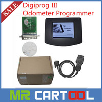 Wholesale Digiprog III Digiprog Newest V4 Odometer Programmer With OBD2 ST01 ST04 Cable Odometer Correction DHL FEDEX EMS