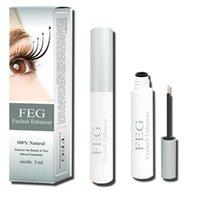 Wholesale Hottest FEG eyelash growth liquid Feg eyelashes enhancer lengthening eyelash serum makes hair growth free DHL