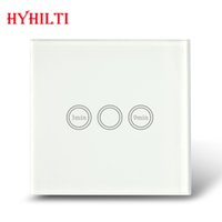 Wholesale China Hilti UK Standard gang timer switch with touch function wall timer switch with LED indication