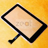 Wholesale 5pcs For FeiPad M7 PD10 g MTK6575 SD V1FPC Tablet Touch Screen Digitizer Glass Black Color