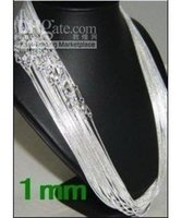 Wholesale 10pcs sterling silver mm snake chain c1 size