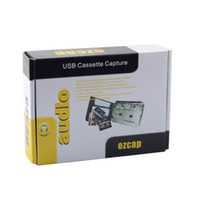 Wholesale 100pcs Super USB Cassette to MP3 Converter Capture Tape to MP3 Auto Reverse Audio Music Player