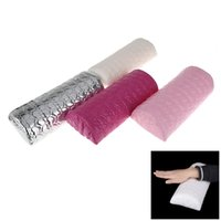Wholesale Professional Nail Art Hand Cushion Sponge Pillow Holder Soft Arm Rest Manicure Tool Nail Form