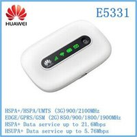 Wholesale E5331 Unlocked G G Mbps HSPA wifi Mini card Wireless Modem Mobile Hotspot Router New