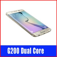Wholesale HDC S6 inch Dual Core MTK6572 Smartphone Show Fake G LTE Octa Core GB MP Android G9200 GPS G Cellphone