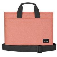 Wholesale Hot Brand Messenger Handbag Case For quot inch Laptop Shoulder Bag For Macbook Colors Free Drop Shipping