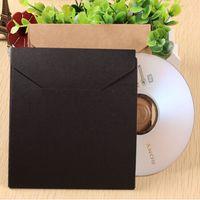 cd dvd sleeves - 13 cm quot Kraft Paper CD Sleeve Discs DVD Packaging Bag Case CD Packing Cover Holder Box Envelopes For Wedding Party Baby Shower