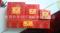 Wholesale Jewelry Boxes with window pendant box neclace box ring box Jewelry Packaging