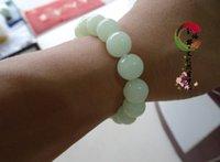 jade bangle - 100 Natural Untreated Grade A jade Bracelet natural crystal bracelet luminous light stone braceletc