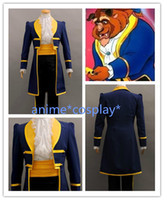 adam beauty - HOT NEW Beauty and the Beast Prince Adam Cosplay Costume a Set