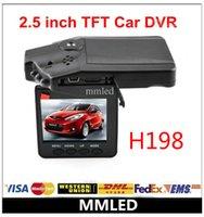 car video camera - Hot sales Top selling Car Dash cams Car DVR recorder camera system black box H198 night version Video Recorder dash Camera IR LED