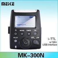 nikon flash - Meike MK MiNi LCD TTL Flash Speedlite for Nikon Camera D7100 D7000