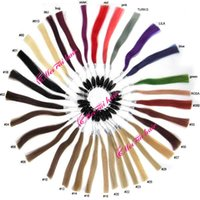 Wholesale 32 Colors Human Hair Chart Hair Extensions Color Chart Free Ship