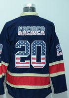 beautiful new york - Factory Outlet New Design New York Rangers Jerseys Chris Kreider Jersey Dark Blue th Nationals Flag Edition Beautiful Ice Hockey Jers