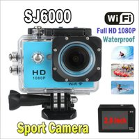 sports camcorder - New sj6000 WIFI camera Style Action Camera quot LCD Full HD P Camcorder MP CMOS Diving M Waterproof Sport DV Video Cam JBD W9
