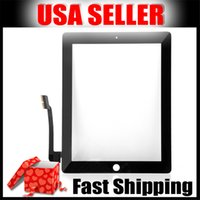 tablet parts - New Tablet Touch Panel Any Slow Touch Funtion Tablet Digitizer Glass Work For Ipad3 Best Tablet Replacement Parts B0046