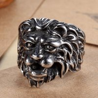 big lions - FACTORY PRICE HIGHT QUALITY BIKER BIG LION STAINLESS STEEL RING FOR