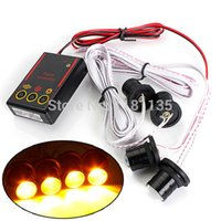 Wholesale High Quality New Car Truck W Strobe Emergency Warning Eagle Eye Yellow Light Headlight LED