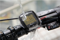 Cheap Wireless bicycle waterproof stopwatches Best black  bike computer