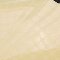 Wholesale WSFS Hot Sale Crystal Clear Round Stickers mm Stick Adhesive Seal Label