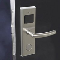 Wholesale Sample RFID MF1 Card hotel lock system with encoder data downlaod device and MF1 card