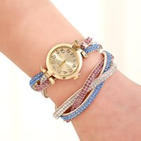 Wholesale Ladies fashion ladies fashion bracelet watch drill table with a new watch manufacturers Korean temperament