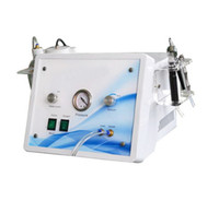 Cheap 3 in 1 crystal and diamond microdermabrasion home device oxygen jet facial machine