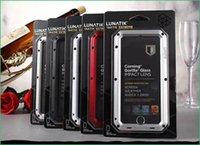 Wholesale Lunatik Taktik Aluminum Gorilla Glass Extreme Case for iphone plus quot Extreme Metal Case with Corning Gorilla Glass