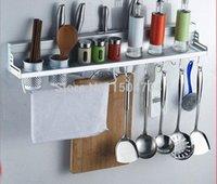 seafood - Kitchen Shelf Storage Rack Spice Tool Holder Seasoning Sooktops Wall Kitchen Rack Kitchen Cooking Seafood Tools