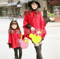 Wholesale Fashion Hot Cut Mouse Colors Designer Small Tote With Scarf for Girls Kids with PU Leather Handbag Children Bags