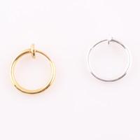 Wholesale Gold Silver Captive Bead Hoop Eyebrow Nipple Nose Lip Ring Earrings Body Piercing Tongue Ring O126