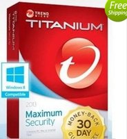 Wholesale Trend Micro Titanium Maxmium Security YEAR PC year NEW DAYS