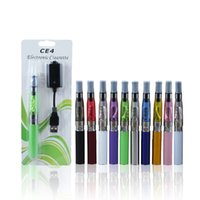 Wholesale CE4 eGo Blister Pack Set CE Atomizer ml Clearomizer mah mah mah battery E Cigarette kit